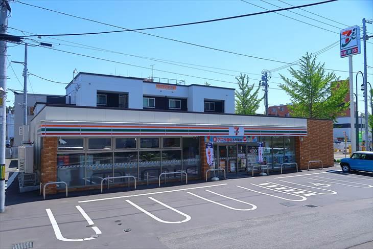 札幌市営地下鉄南北線 自衛隊前駅 セブンイレブン
