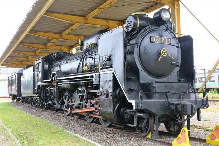 北海道鉄道技術館 D51