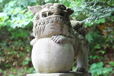 上野幌神社 狛犬様