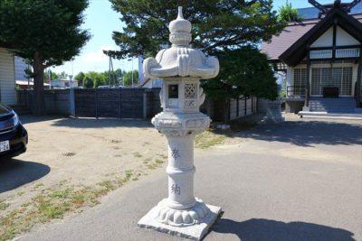 上白石神社 石灯籠