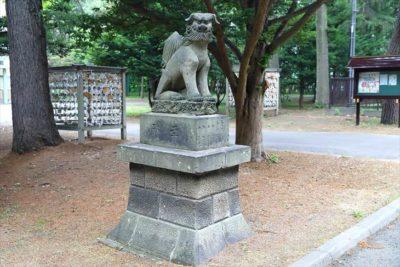 大谷地神社 狛犬様