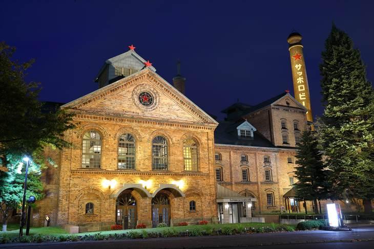 サッポロビール園の夜景
