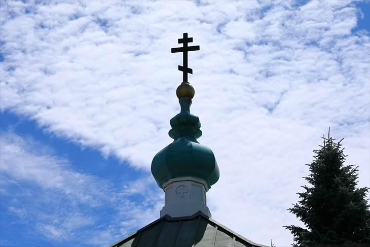 札幌ハリストス正教会顕栄聖堂 クーポル