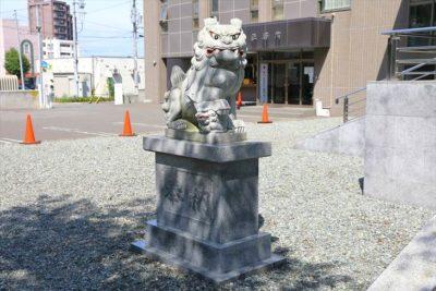 信濃神社 狛犬様