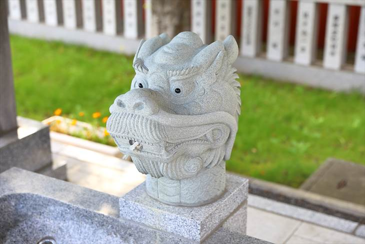 新川皇大神社 手水舎