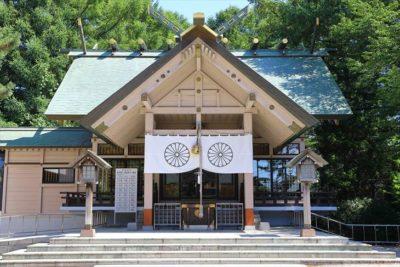白石神社(札幌)社殿