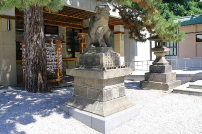 白石神社(札幌) 狛犬様