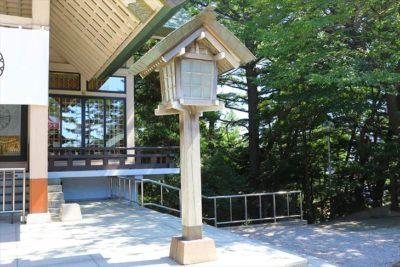 白石神社(札幌)灯籠