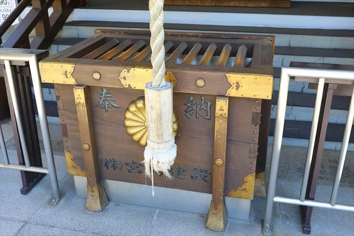 白石神社(札幌)賽銭箱