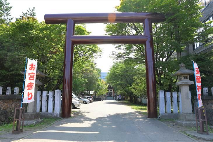 豊平神社 鳥居