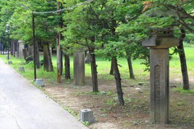 月寒神社 石灯籠