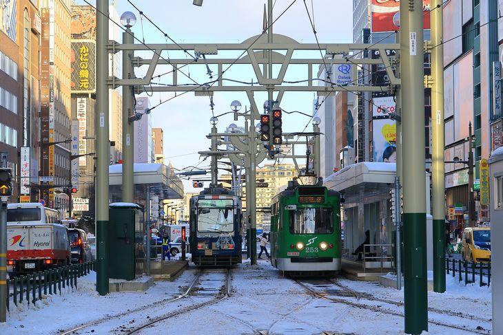 札幌市電 すすきの駅