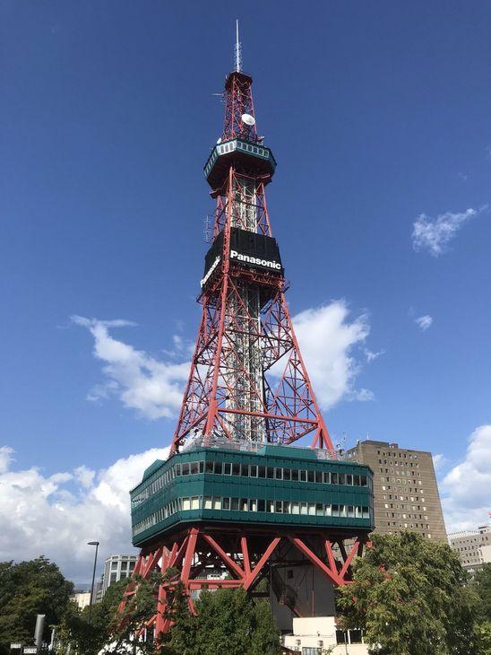 停電中のさっぽろテレビ塔