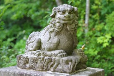 開拓神社(紅桜公園)狛犬