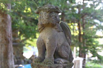 花岡神社 狛犬
