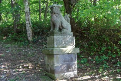 定山渓神社 狛犬