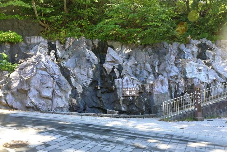定山渓温泉 湯の滝