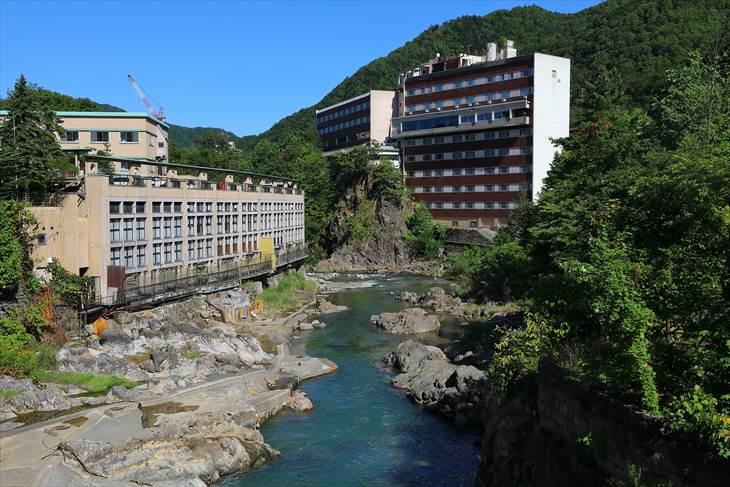 定山渓温泉 月見橋