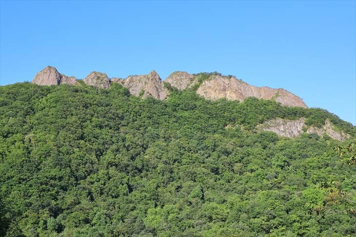 上砥山神社からの八剣山