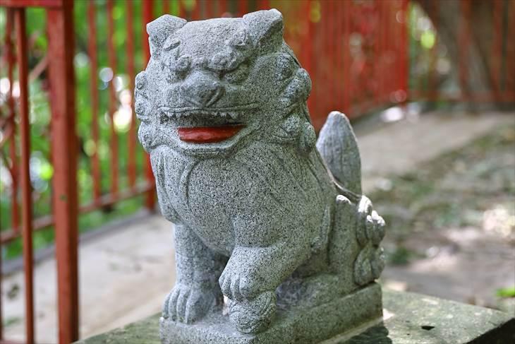 上山鼻神社 狛犬