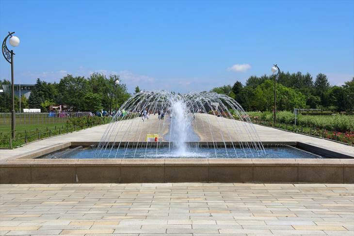 川下公園 小噴水池