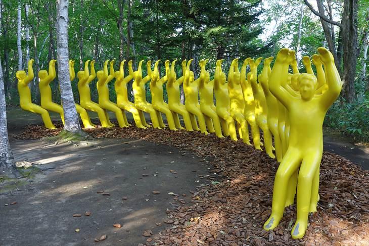 札幌芸術の森 野外美術館 椅子になって休もう