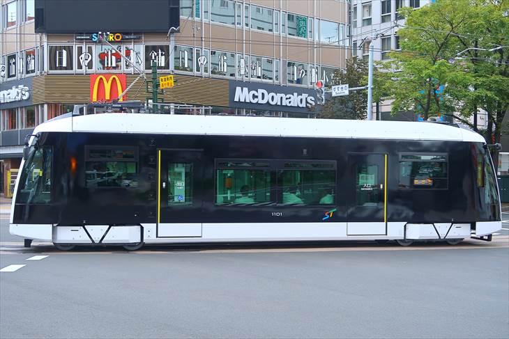 札幌市電 新型車両