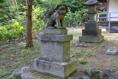 白川神社 狛犬様