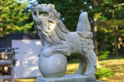 豊滝神社 狛犬様