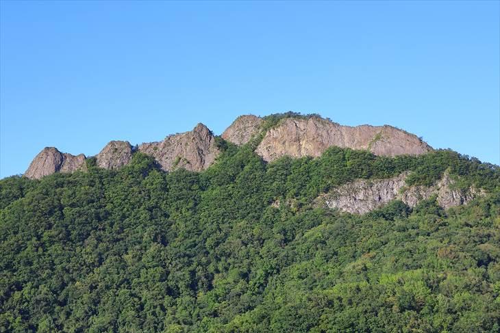 観音岩山(八剣山)