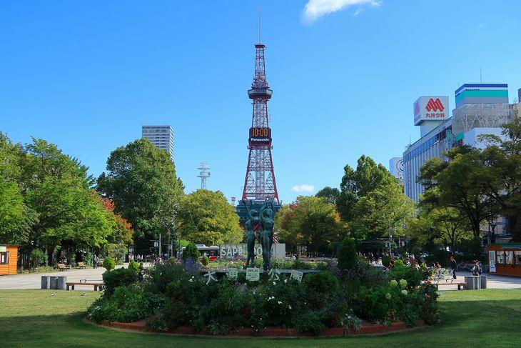 2018年9月の札幌・大通公園