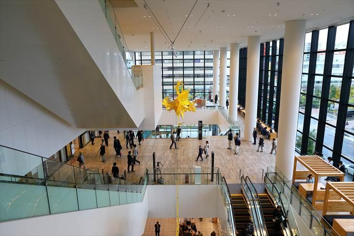 札幌市民交流プラザ 3階の様子