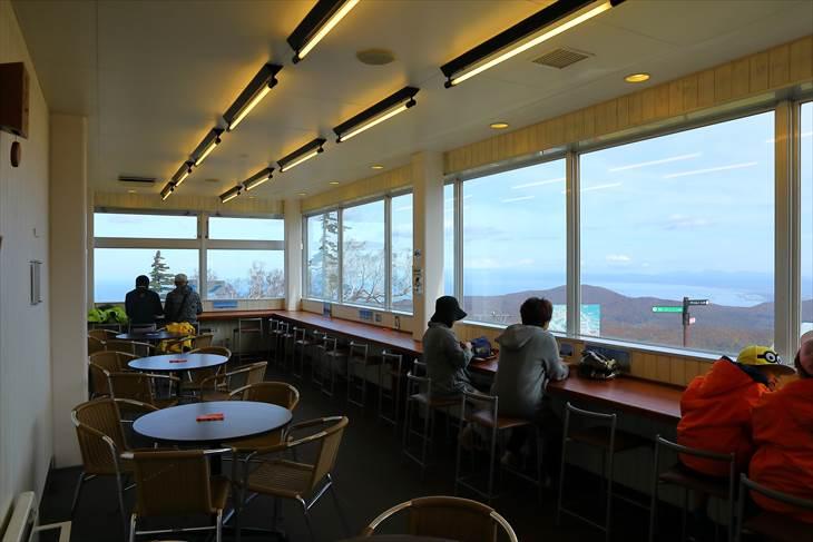 札幌国際スキー場 カフェ カッコウ