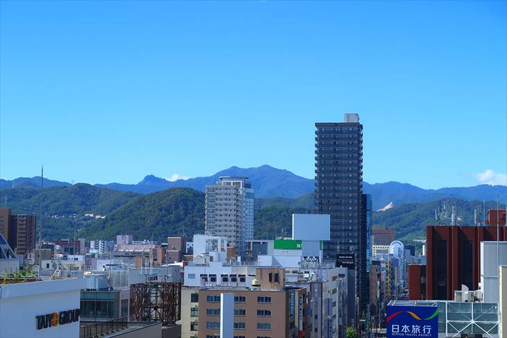 札幌 三越屋上