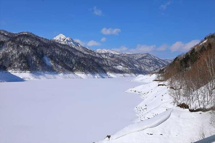 さっぽろ湖の冬