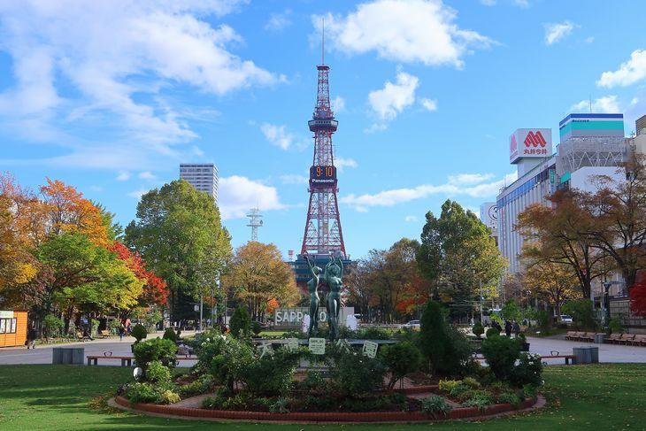 2018年10月の札幌大通公園