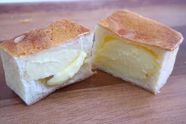 ザ・ベーカリー&ペイストリー 四角いクリームパン