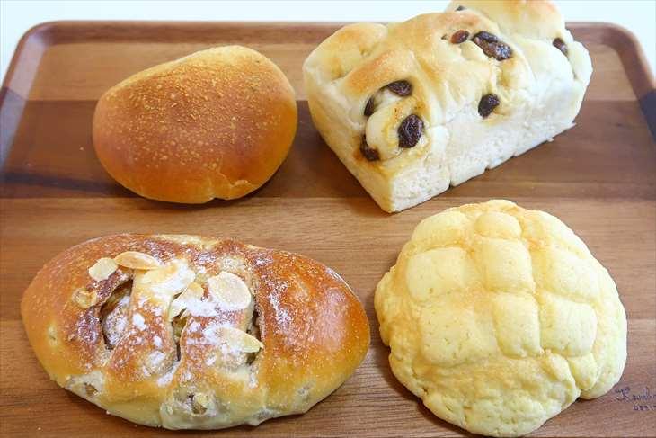 ブーランジェリー カキザワのパン