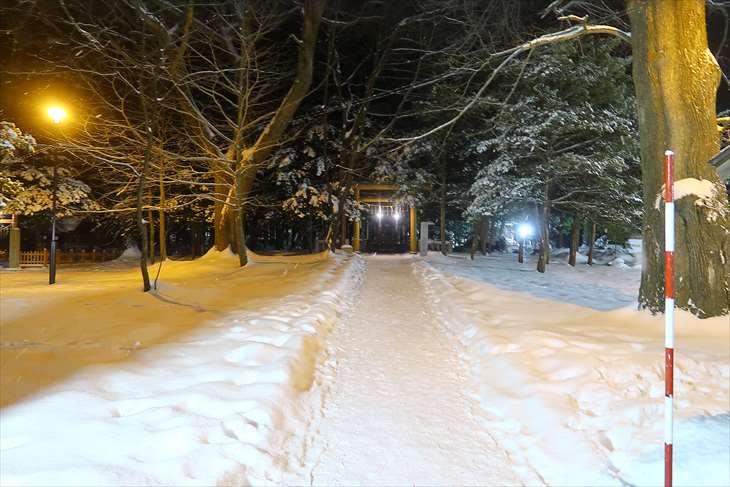 北海道神宮 穂多木神社