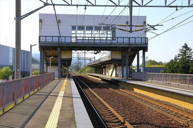 ほしみ駅ホーム