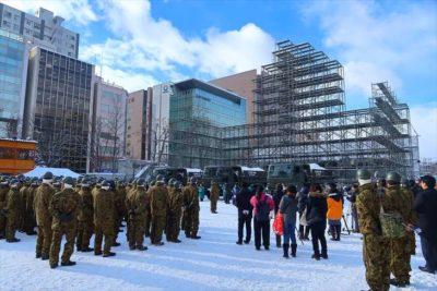 さっぽろ雪まつり 雪輸送開始式