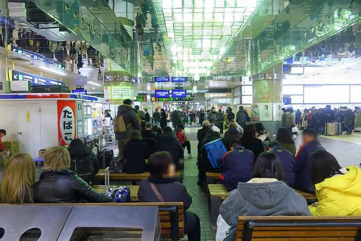 札幌駅 キヨスク