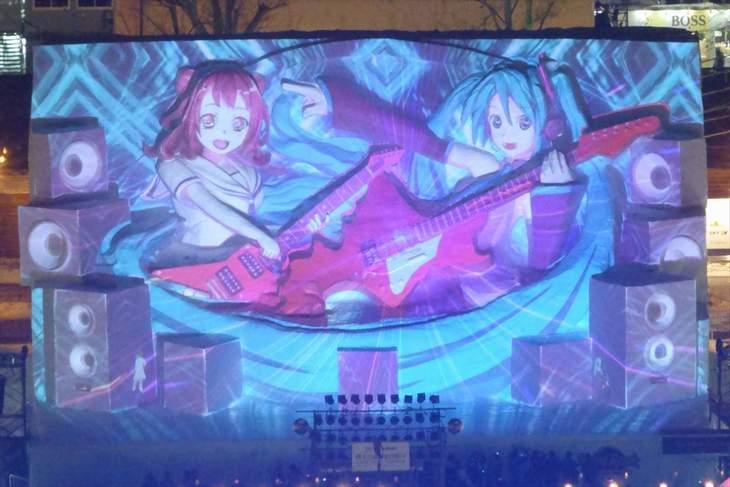 【大雪像】Hard Rock Family Live~初音ミク&戸山香澄 on Snow Stage~