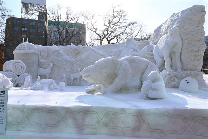 さっぽろ雪まつり・大通公園9丁目