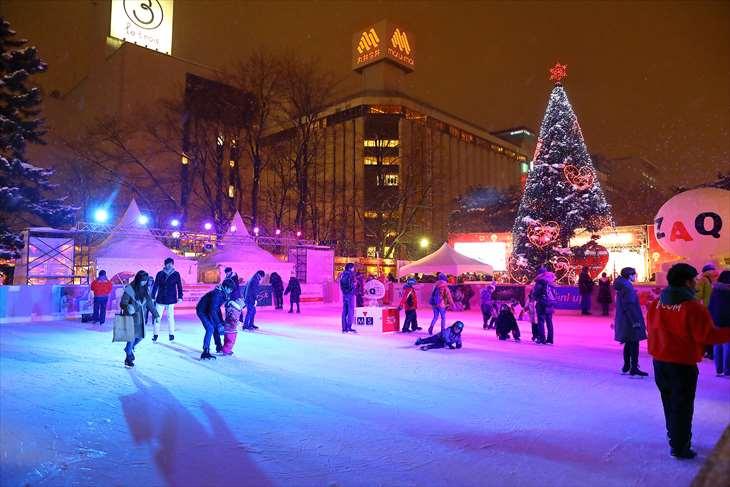 さっぽろ雪まつり スケートリンク