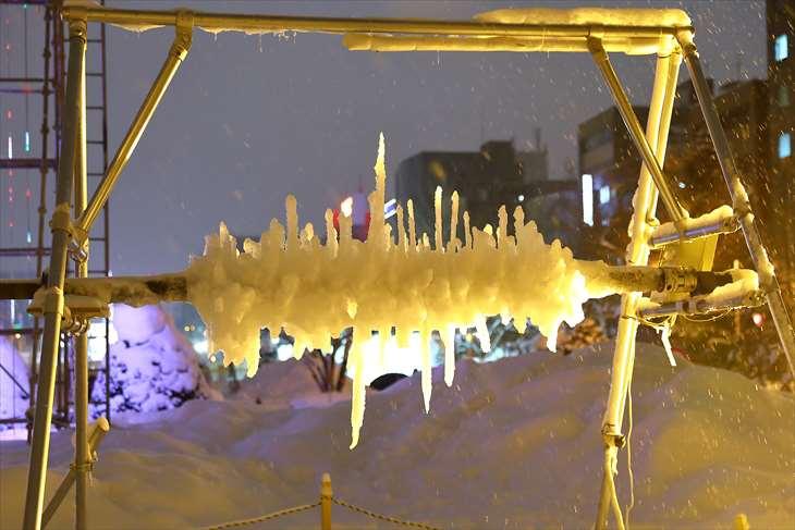 さっぽろ雪まつり・大通公園13丁目・さっぽろ垂氷まつり2019