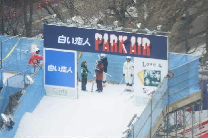 さっぽろ雪まつり ジャンプ台