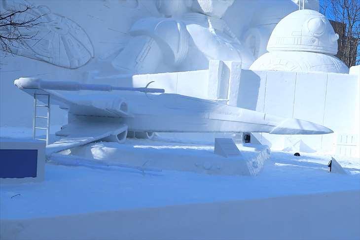 さっぽろ雪まつり・大通公園10丁目・【大雪像】「スター・ウォーズ」