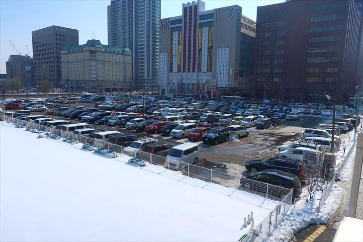 レールパーク札幌駐車場