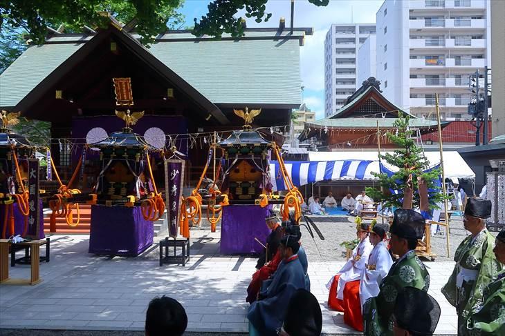 札幌まつり 駐輦祭